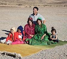 イランの女性と高部三司